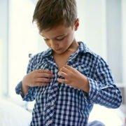 Filho a se vestir