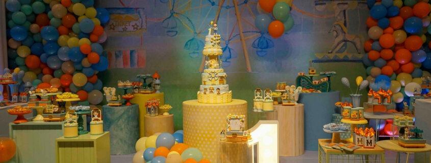 Festa de aniversário do meu filho